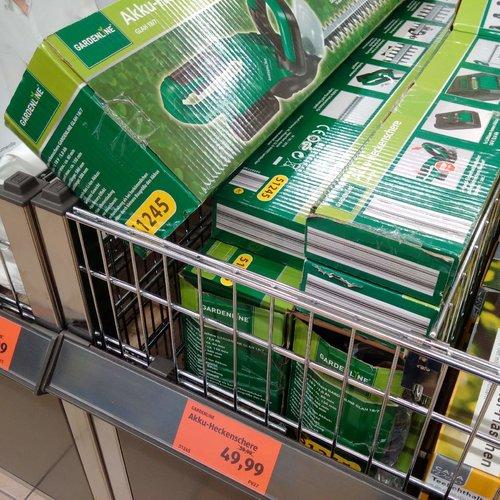 GARDENLINE Akku-Heckenscherre - jetzt 17% billiger