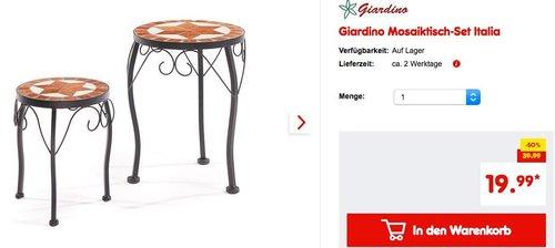 Giardino Mosaiktisch-Set Italia - jetzt 26% billiger
