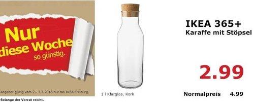 IKEA 365+ Karaffe mit Stöpsel - jetzt 40% billiger
