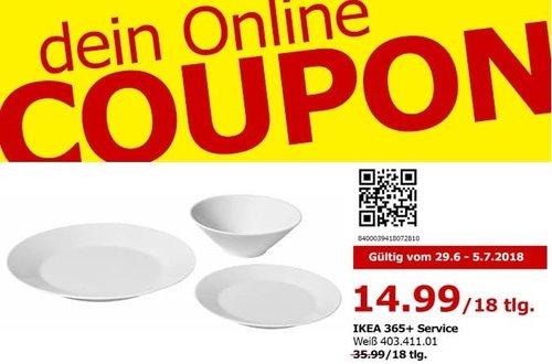 IKEA 365+ Service, 18tlg. - jetzt 58% billiger