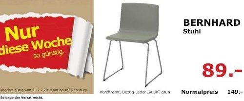IKEA BERNHARD Stuhl - jetzt 40% billiger