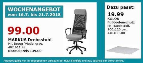 IKEA Bielefeld MARKUS Drehstuhl - jetzt 29% billiger