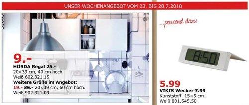 IKEA Düsseldorf HÖRDA Regal 20x39 cm, 40 cm hoch, weiß - jetzt 64% billiger