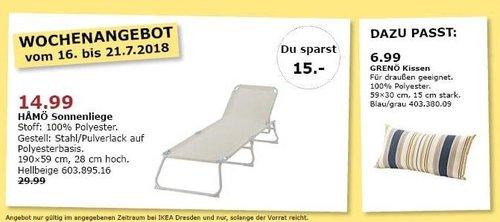 IKEA Dresden HAMÖ Sonnenliege - jetzt 50% billiger