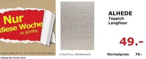 IKEA Freiburg ALHEDE Teppich Langfloor - jetzt 38% billiger