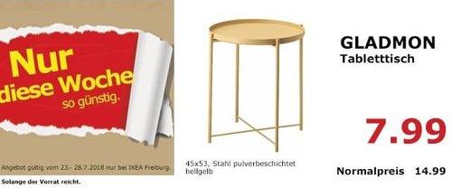 IKEA Freiburg  GLADMON Tabletttisch - jetzt 47% billiger