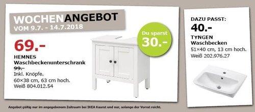 IKEA HEMNES Waschbeckenunterschrank - jetzt 30% billiger