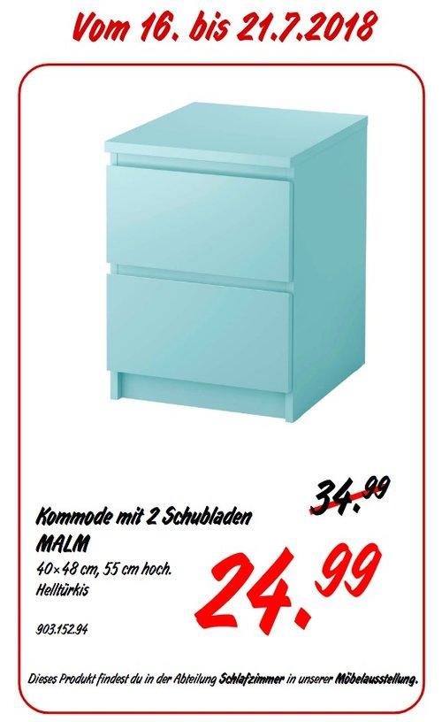 Ikea Koblenz Malm Kommode Mit 2 Schubladen Fur 24 99 29