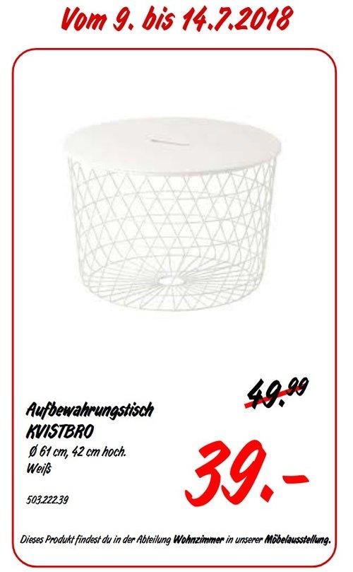 IKEA KVISTBRO Aufbewahrungstisch - jetzt 22% billiger