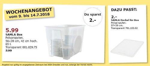 IKEA SAMLA Box 65 l. - jetzt 25% billiger