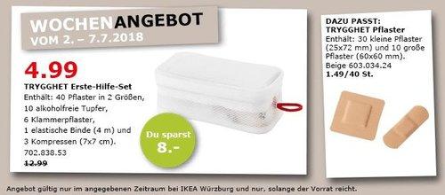 IKEA TRYGGHET Erste-Hilfe-Set - jetzt 62% billiger