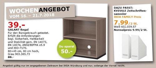 IKEA Würzburg GALANT Regal - jetzt 56% billiger
