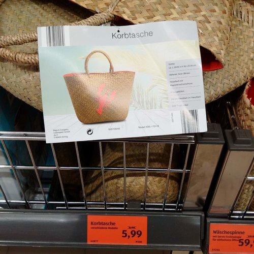 Korbtasche - jetzt 33% billiger