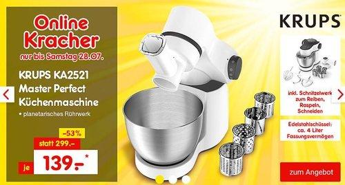 Krups KA2521 Master Perfect Küchenmaschine - jetzt 7% billiger