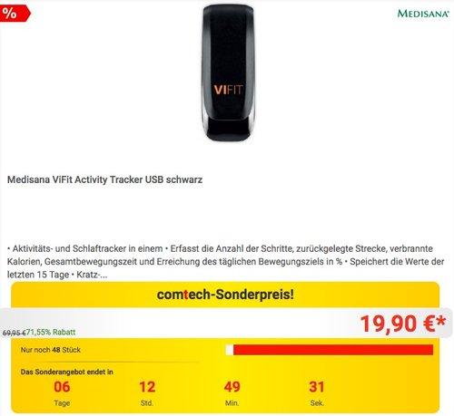 Medisana ViFit Activity Schrittzähler und Schlaf-Tracker - jetzt 31% billiger