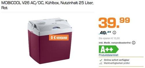 MOBICOOL V26 AC/DC Kühlbox - jetzt 11% billiger