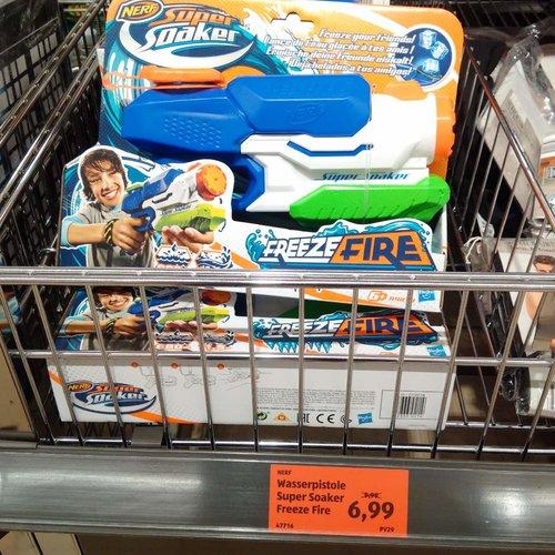 Nerf Wasserpistole Super Soaker - jetzt 30% billiger