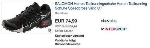 Salomon Speedcross Vario GTX M Herren Trailrunningschuhe - jetzt 33% billiger