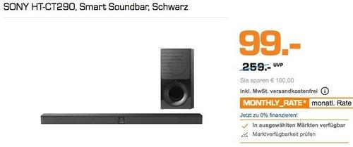 Sony HT-CT290 2.1 Kanal Soundbar 300W, Schwarz - jetzt 41% billiger