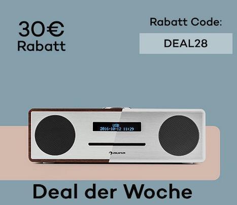 Stanford DAB-CD-Radio DAB+ Bluetooth USB MP3 - jetzt 20% billiger