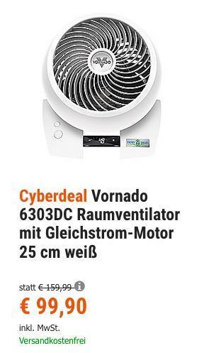 Vornado 6303DC Raumventilator - jetzt 23% billiger