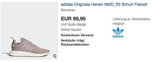 adidas Originals Herren NMD_R2 Freizeit- /Fitnessschuh - jetzt 8% billiger