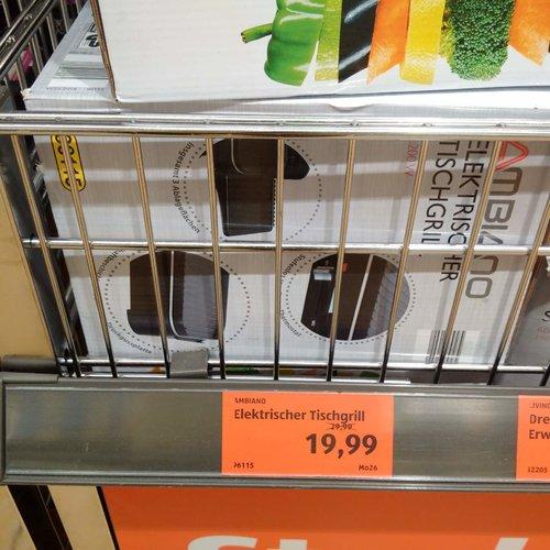 AMBIANO Elektrischer Tischgrill - jetzt 33% billiger