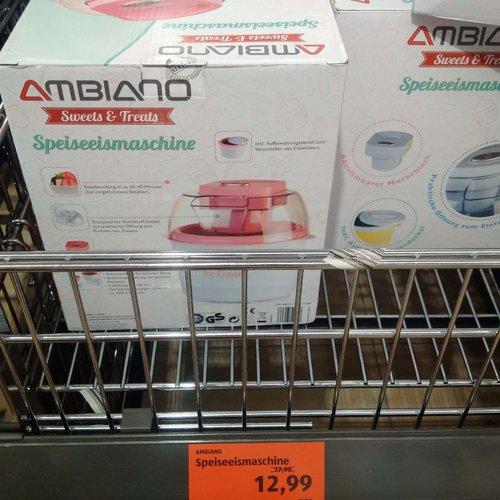 AMBIANO Speieismaschine - jetzt 28% billiger