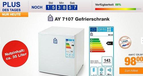 ARTE home AY 7107 Gefrierschrank - jetzt 18% billiger