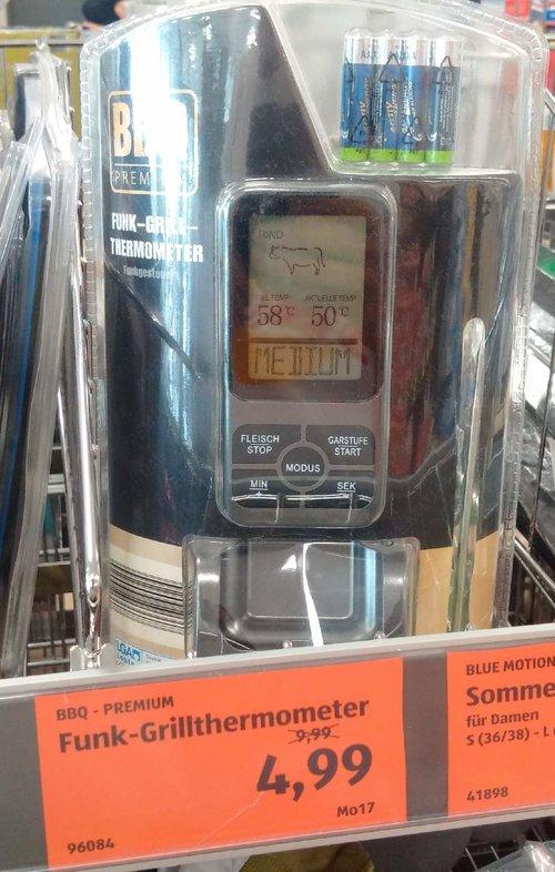 BBQ-Premium Funktionen - Grillthermometer - jetzt 50% billiger