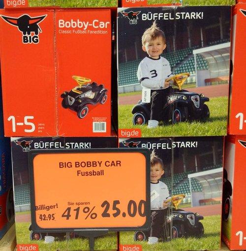 BIG Bobby Car Fussball - jetzt 42% billiger