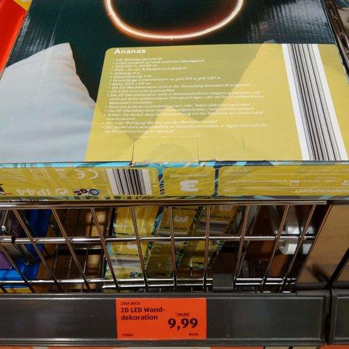 CASA DECO 2D LED Wanddekoration - jetzt 50% billiger