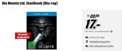 Die Mumie Ltd. Steelbook [Blu-ray] - jetzt 26% billiger