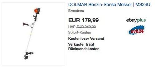 DOLMAR MS24U Benzin-Sense - jetzt 11% billiger