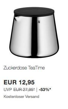 eBay WMF und Silit-Aktion: z.B. Zuckerdose TeaTime - jetzt 24% billiger