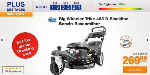 Güde Big Wheeler Trike 465 D Benzin-Rasenmäher in Blackline Ausführung - jetzt 18% billiger
