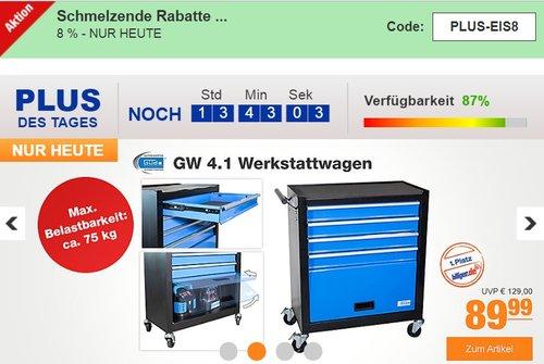 Güde GW 4.1 Werkstattwagen - jetzt 17% billiger