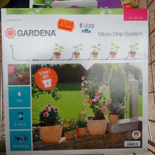 GARDENA Start Set Pflanztöpfe S - jetzt 35% billiger