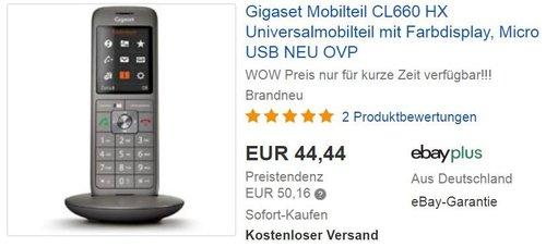 Gigaset CL660HX Telefon - jetzt 13% billiger
