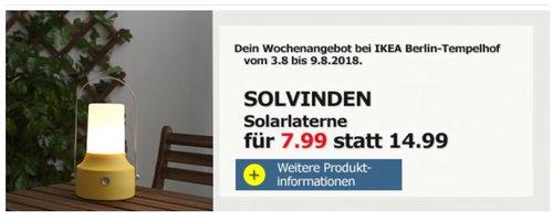 Ikea Berlin Tempelhof Solvinden Solarlater Für 799 47