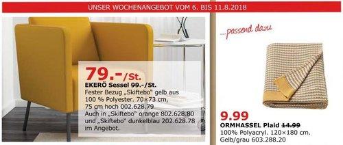 IKEA Düsseldorf EKERÖ Sessel - jetzt 20% billiger
