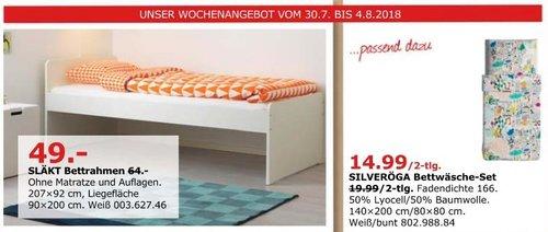 IKEA Düsseldorf SLÄKT Bettrahmen - jetzt 23% billiger