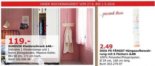 IKEA Düsseldorf  - SUNDVIK Kleiderschrank - jetzt 20% billiger