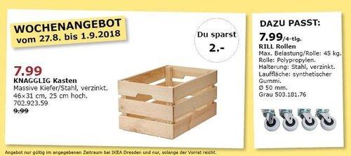 IKEA Dresden - KNAGGLIG Kasten - jetzt 20% billiger