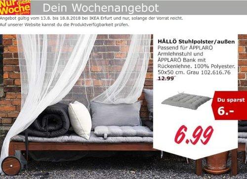 IKEA Erfurt Hallö Stuhlpolster - jetzt 46% billiger