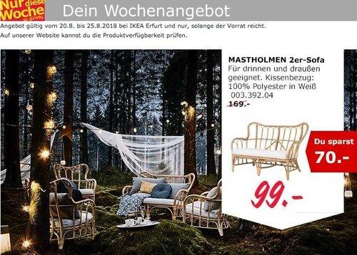 IKEA Erfurt MASTHOLMEN 2er-Sofa - jetzt 41% billiger