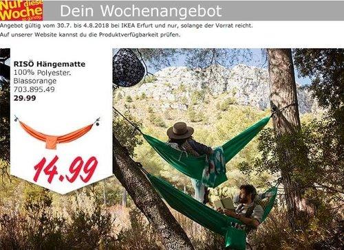 IKEA Erfurt RISÖ Hängematte - jetzt 50% billiger
