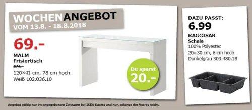 IKEA Kaarst MALM Frisiertisch - jetzt 22% billiger