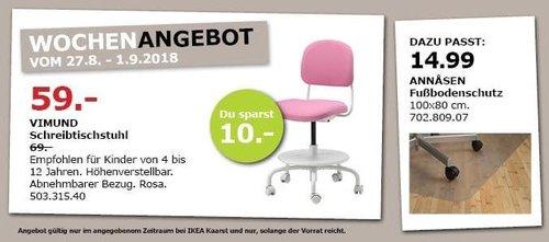 IKEA Kaarst - VIMUND Schreibtischstuhl - jetzt 14% billiger