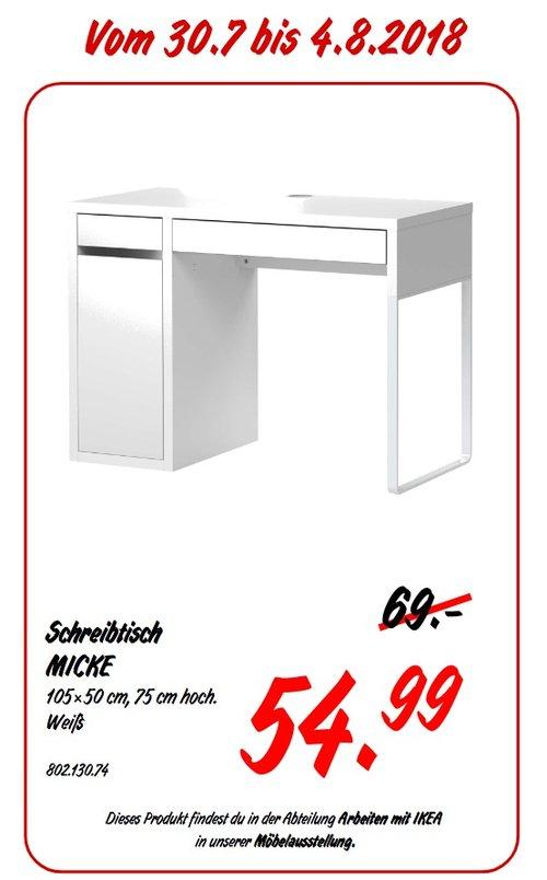 IKEA Koblenz MICKE Schreibtisch - jetzt 20% billiger